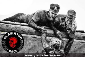 obstaculo gladiator race
